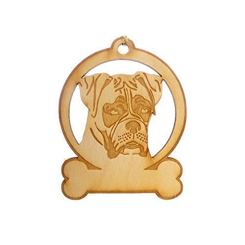 Personalized Boxer Dog Ornament - Boxer Lover Gifts - Boxer Memorial Gifts