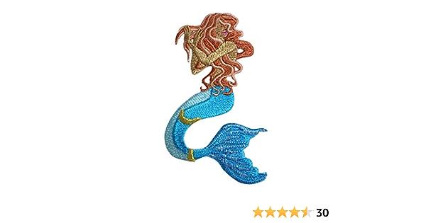 Vitamin Sea Patch Unicorn Embroidered Iron On Patch Mermaid Corn Patch Original Design Mermaid Iron On Patch Mermaid Unicorn Patch