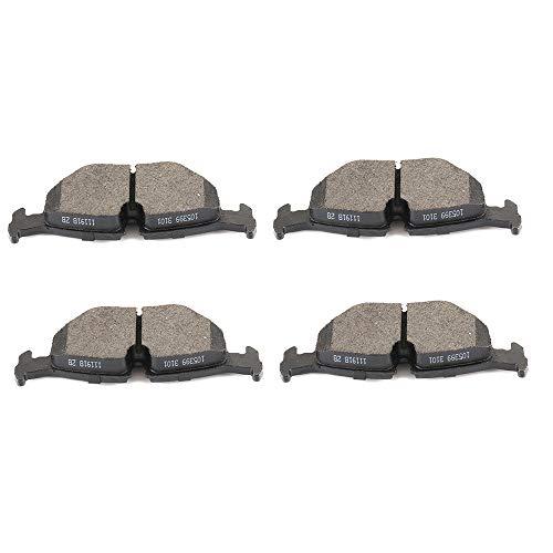 AUTOMUTO Rear Ceramic Brakes Pads Set fit for BMW 318/323/325/328/525/528/530/540/735/740 i is iL iT,BMW M3/M5,1998-2002 BMW Z3