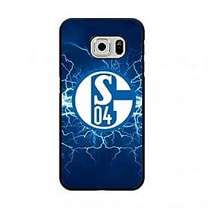 Popular FC Logo carcasa de telefono Schalke 04 Soccer Ball carcasa de telefono For Samsung Galaxy S7edge