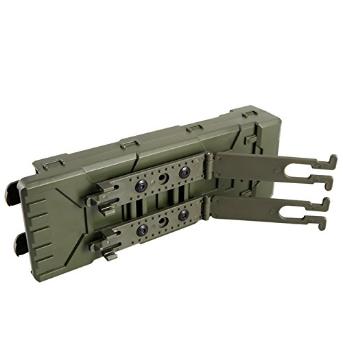 Tactical MOLLE 10pcs 12 Gauge Shotgun Magazine Shell Pouch Carrier Holder
