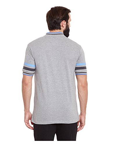 Yepme - Brendon Hochleistungs-Polo-T-Shirt - Grau