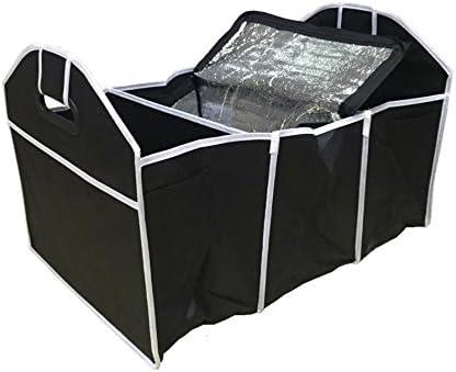 2/in 1/resistente pieghevole organizer per bagagliaio con Thermo Cooler shopping Tidy Storage