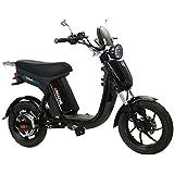 GIGABYKE GROOVE 48V 750W Eco-Friendly Electric Moped Scooter E-Bike- Black