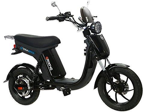 GIGABYKE-GROOVE-48V-750W-Eco-Friendly-Electric-Moped-Scooter-E-Bike-Black
