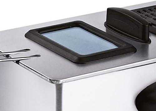 Friteuse électrique 3,5 L en acier