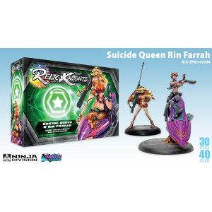 Suicide Queen and Rin Farrah (Adult Soda Pop Girl)