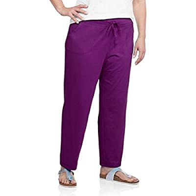 Danskin Now Women's Active Knit Pants with Pockets