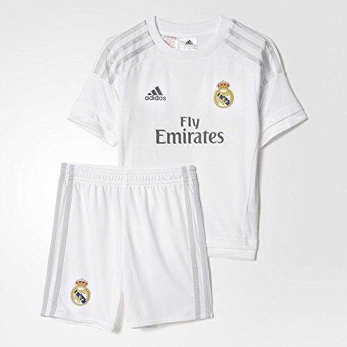 (Adidas 2015/16 Real Madrid CF Home Mini Kit [WHITE])