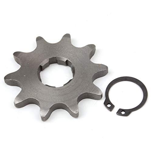 ont Sprocket with Circlip for 20mm Counter Shaft Dirt Pit Bike ATV Go-kart ()