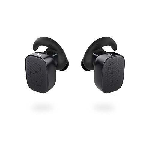 Completely Wireless Earbuds, SmartOmi True Wireless Bluetooth Headphones Stereo Noise Cancelling Earpieces with Mic Hands-free calls for Smartphones iPhone, Android on Driving or - Parts All The Ear Of