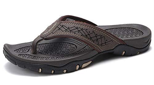 Lxso Men's Flip Flops Athletic Sport Thong Sandals Outdoor Beach ()