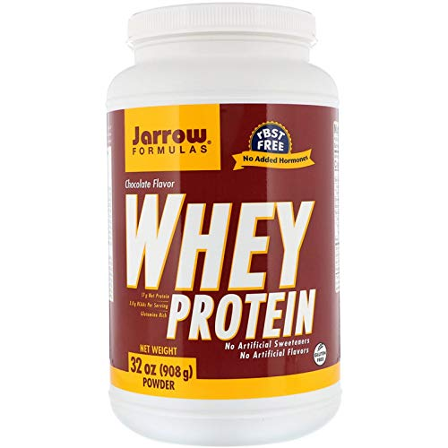 - Whey Protein Supports Muscle Development 100% Natural Chocolate 32 oz 908 g
