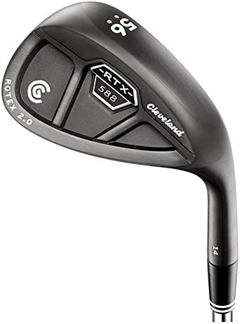 Cleveland Golf Men s 588 RTX 2.0 Cavity Back Standard Bounce Satin Wedge, Black
