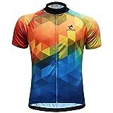 Tia Men's Cycling Short Sleeve Jersey Summer Road