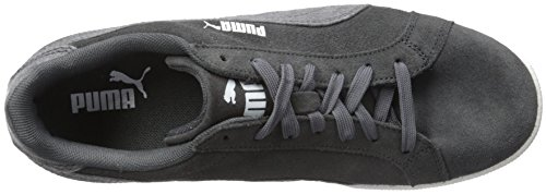 Puma Heren Smash Jersey Fashion Sneaker Asfalt / Puma Wit