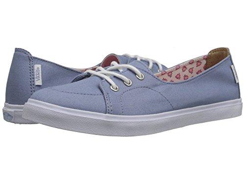 Vans Donna Pallasades Sf (tropicale Floreale) Fold Denim / Scarpe Da Skateboard Bianco Vero (us 5)