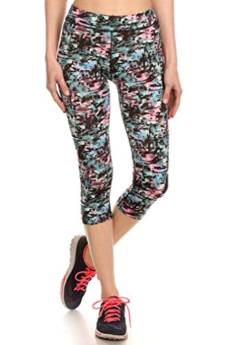 Simplicity Juniors Teenager Activewear Leggings