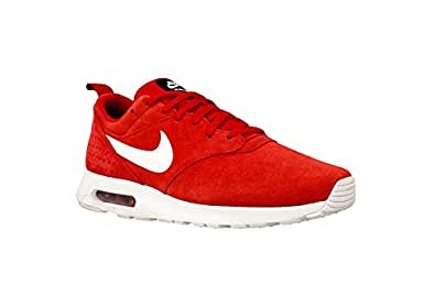 Nike Air Max Tavas LTR, Zapatillas de Running para Hombre, Rojo / Blanco (Gym Red / White-Black), 41 EU