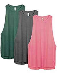 Yoga Tops Activewear Workout Clothes Sports Racerback...