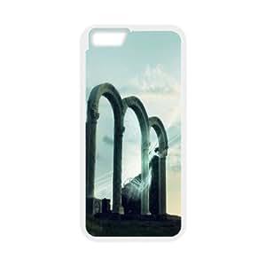 Anillo de la puerta iPhone 6 Funda, iPhone 6 para chicas barato divertido lindo Kyle5v - blanco