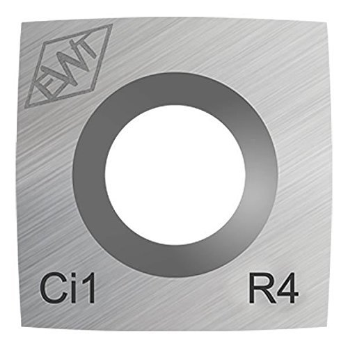 (Authentic Easy Wood Tools Ci1-R4 Square Carbide Replacement Cutter with 4