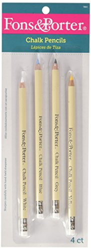 Fons and Porter Chalk Pencils 4pieces Per Pack