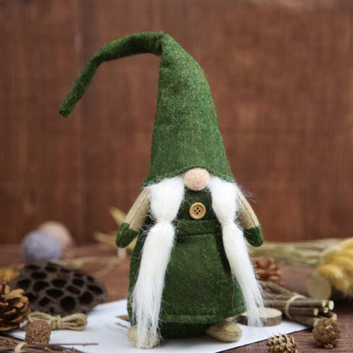 Ampblue Swedish Santa Claus Christmas Tomte Vintage Signed Wood Toy (Vintage Doll Wood)