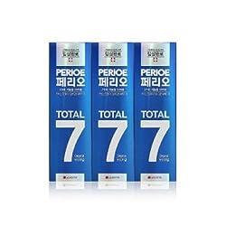 LG perioe TOTAL7 Original Toothpaste 4.23oz 120g 3P