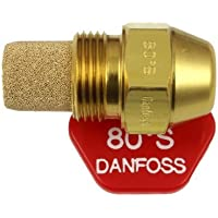 Danfoss Oil Fired Boiler Burner Nozzle 0.60 x 80 S USgal/h ° Degree Spray Pattern 0.6 Heating Jet 2.37 Kg/h by Danfoss