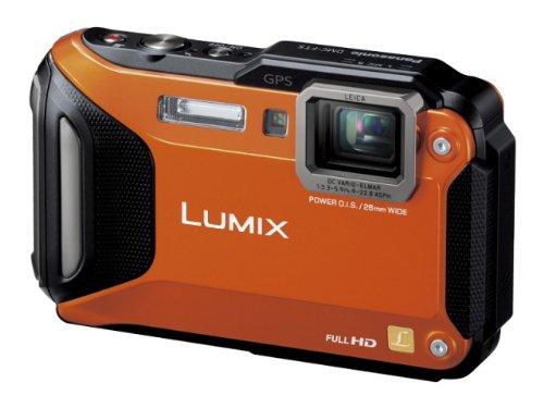 大洲市 パナソニック デジタルカメラ ルミックス DMC-FT5-D FT5 防水 防水 オレンジ DMC-FT5-D デジタルカメラ オレンジ B00B7FO61Q, 久米町:b56c397c --- vanhavertotgracht.nl
