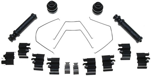 (ACDelco 18K440X Professional Front Disc Brake Caliper Hardware Kit with Clips, Springs, Boots, and Seals)