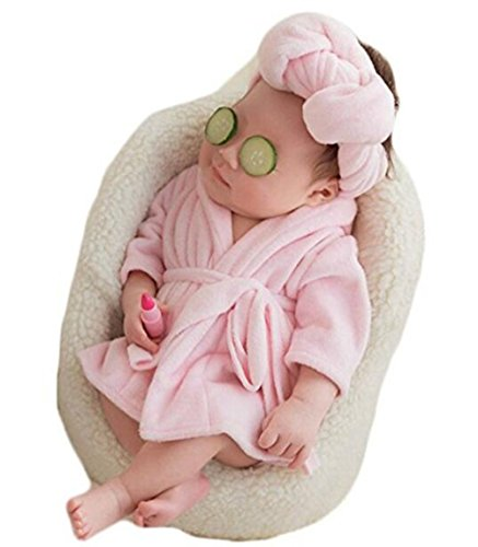 Newborn Baby Photography Photo Props Costume Bathrobes Bath Towel Blanket Photo Shoot]()