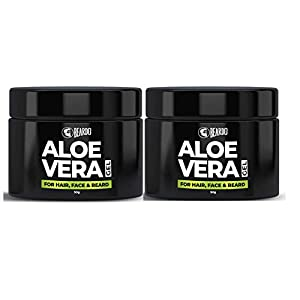 Beardo Aloe Vera Gel For Hair, Face & Beard (50 gm) (Pack of 2)