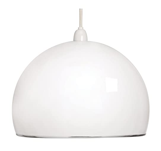 Oaks lighting 1320 s retro acrylic dome pendant shade amazon oaks lighting 1320 s retro acrylic dome pendant shade mozeypictures Image collections