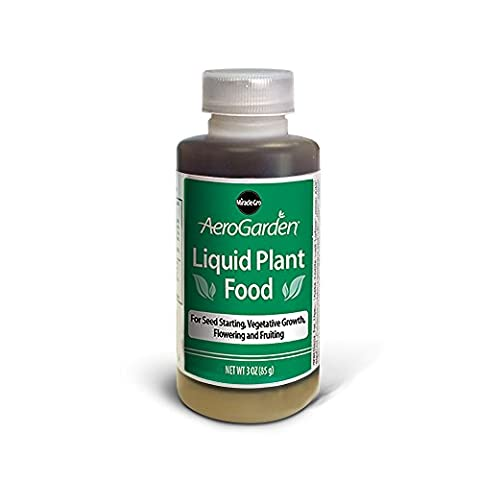 AeroGarden Liquid Nutrients (3 oz) - Liquid Plant Food