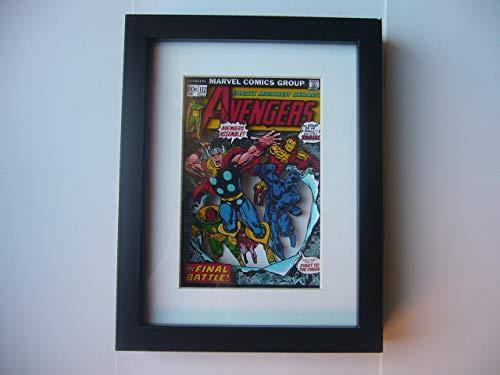 Amazon.com: Avengers Comic Book 3D Shadow Box Diorama Art ...