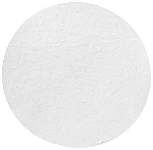 Whatman 1825-025 Glass Microfiber Binder Free Filter, 0.7 Micron, 19 s/100mL Flow Rate, Grade GF/F, 2.5cm Diameter (Pack of 100) by Whatman