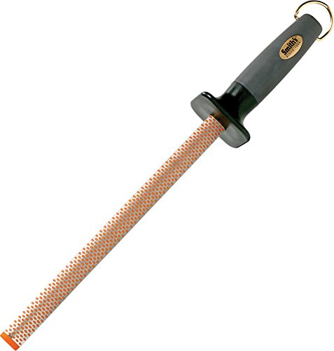 - Smith's #3001 10-Inch Oval Diamond Sharpening Rod