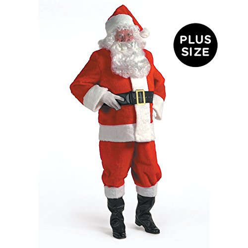Kris Kringle Santa Claus Suit 3X Costume - Kris Kringle Costumes