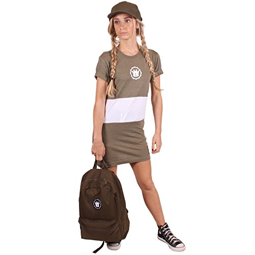 UOW - Camisa deportiva - para mujer verde oliva