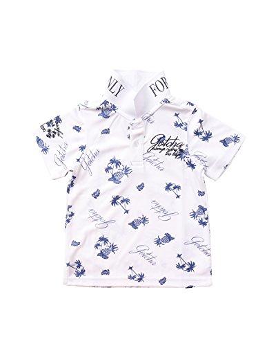[ガッチャ ゴルフ] GOTCHA GOLF ポロシャツ キッズ ドライ リゾート カラー シャツ 子供用 ボーイズ 182GG3218