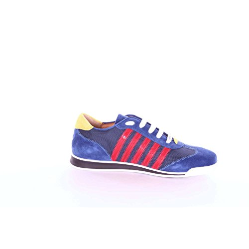 DSQUARED2 W17SN419839 Sneakers Harren Blau und Rot 42