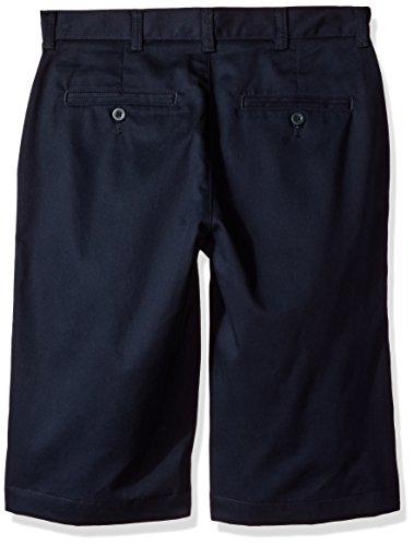 IZOD Uniform Young Men's Flat Front Short, Navy, 36 Photo #2