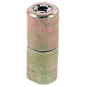 Reemplazo de grasa pistola acoplador tono de latón para excavadora