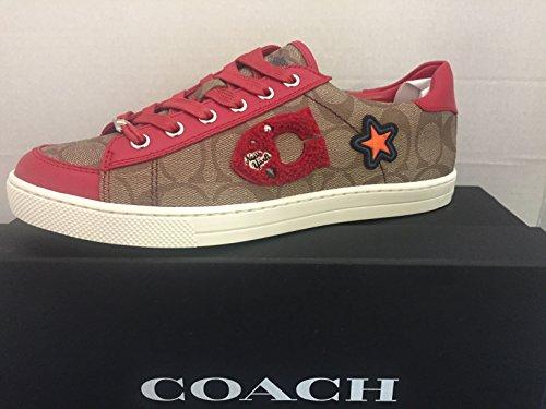 Sneaker Coach Porter Lo Sneaker New York Style Fg1458 Dq4 Taglia 9.5