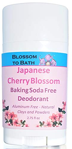 Blossom to Bath Baking Soda Free Deodorant, Japanese Cherry Blossom (2.75 ounce)