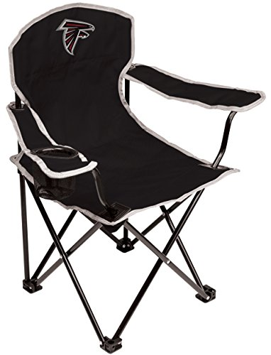 Falcons Collapsible (NFL Atlanta Falcons Youth Coleman Folding Chair, Black)
