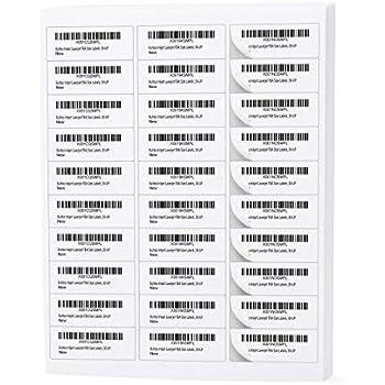 Amazon com : Amazon FBA Label (100 Sheets, 3000 Labels) 30