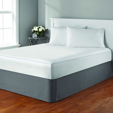Mainstays Waterproof Cooling Comfort Luxury Fitted Mattress Protector, Queen Size by Mainstay